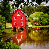 Starrs Mill, a historic landmark near Atlanta Stock Photography