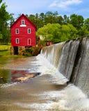 Starrs Mleje blisko Atlanta, historyczny punkt zwrotny obraz stock