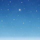 starry önska för ljus sky vektor illustrationer