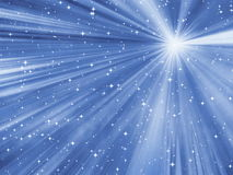 starry abstrakt bakgrund Royaltyfri Fotografi