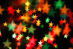 Starry background. Lots of stars in various colors Royalty Free Stock Image
