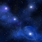 Starry background of deep outer space Stock Photography