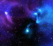 Starry background of deep outer space Royalty Free Stock Image