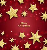 Starry Background for Merry Christmas and Happy New Year 2017. Illustration Starry Background for Merry Christmas and Happy New Year 2017 - Vector Royalty Free Stock Photography