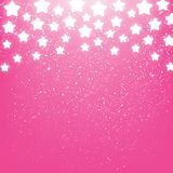 Starry background. Pink starry background for Your design Stock Image