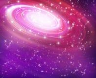 Starry background of stars. Astronomy background bright deep field galaxy illustration stock illustration