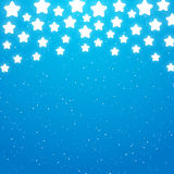 Starry background for Your design. Blue starry background for Your design Royalty Free Stock Photo