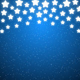 Starry background for Your design. Blue starry background for Your design Royalty Free Stock Image