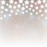Starry background for Your design. Silver starry background for Your design Royalty Free Stock Photo