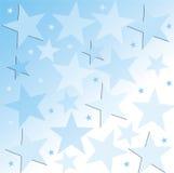 starry bakgrund Arkivbild
