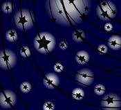 starry bakgrund Royaltyfri Foto