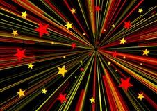 starry bakgrund Royaltyfri Fotografi