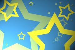starry bakgrund Royaltyfri Bild