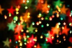 starry bakgrund Arkivfoto