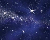 starry bakgrundssky Royaltyfri Foto