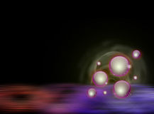 Starry Balls Background Royalty Free Stock Photos