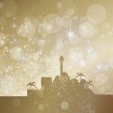 Starry bethlehem Stock Image