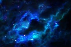 starry blå sky royaltyfri foto
