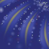Starry blue background Stock Image