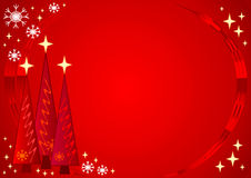 Starry Christmas Royalty Free Stock Photos