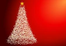 Starry Christmas Tree Stock Photos