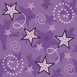 Starry design. Abstract christmas background with stars Vector Illustration