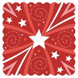 Starry design Royalty Free Stock Images