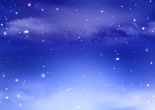 Starry dreamlike festive background Stock Photos