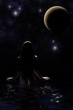 starry evighet Arkivbild
