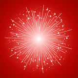 Starry firework Royalty Free Stock Photos
