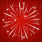 Starry firework Royalty Free Stock Image