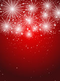 Starry fireworks Royalty Free Stock Photos