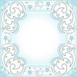 Starry frame Stock Photos