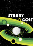 Starry golf Royalty Free Stock Photography