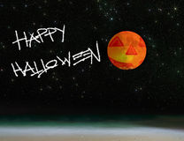 Starry halloween Royalty Free Stock Images