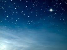 starry natt Royaltyfri Foto