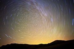 Starry natt Arkivbild