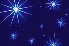 starry natt Royaltyfria Foton