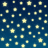 Starry night background Stock Photos