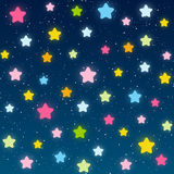Starry night background Royalty Free Stock Photo
