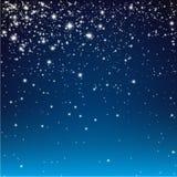 Starry night bg Royalty Free Stock Image