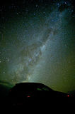 The starry night on Great Ocean Road Stock Photo