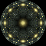 Starry night mandala Stock Images
