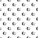 Starry night pattern vector Stock Photo