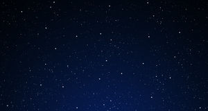 A starry night sky. Royalty Free Stock Photos