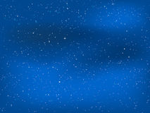 Starry night sky. Abstract background of a starry night sky Royalty Free Stock Photo