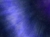 Starry night sky. The starry night sky, abstract cosmic background Stock Image
