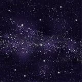 Starry night sky. Background starry sky milky way Royalty Free Stock Image