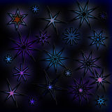 Starry Night Sky Royalty Free Stock Images