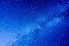 Starry Night Sky Royalty Free Stock Photography